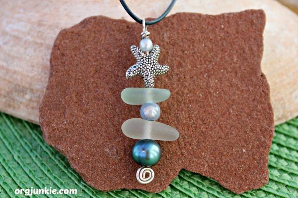 Sea Glass Necklace PEI