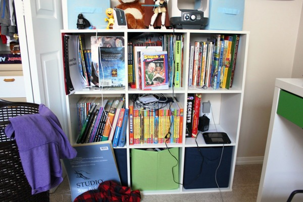 bedroom cube before