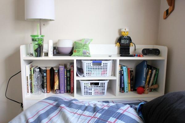 bedroom headboard before