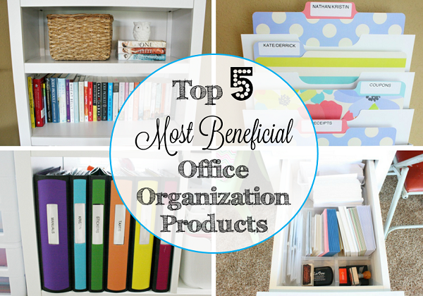 Top 5 Most Beneficial Office Organization Products at I'm an Organizing Junkie blog
