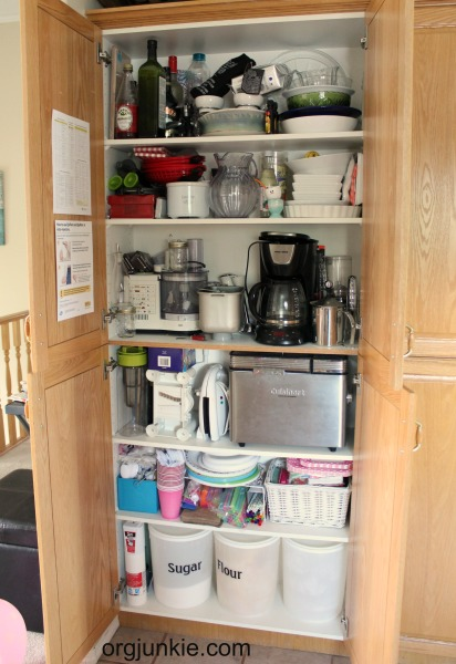 Rearranging Kitchen Cupboards And Making Hard Choices