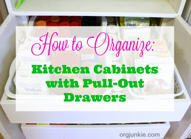 come organize with me: organizing kitchen cabinets