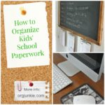 How to Easily Organize Kids' School Paperwork
