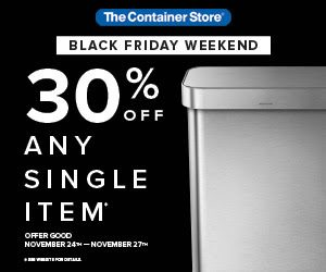 container-store-black-friday-sale
