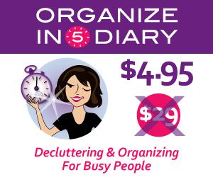 Organize in 5 Diary