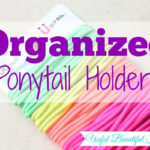 Quick Tip: Organized Elastic Ponytail Holders