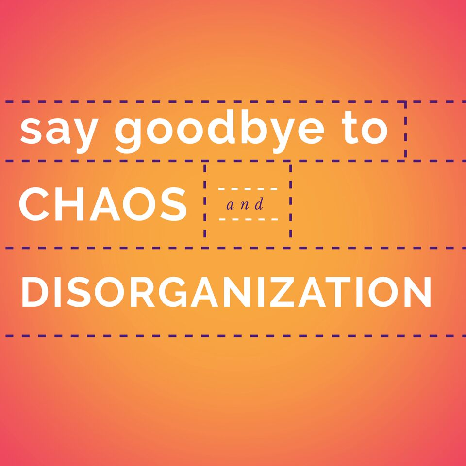Say Goodbye to Chaos and Disorganization - Conquer Your Clutter Super Bundle