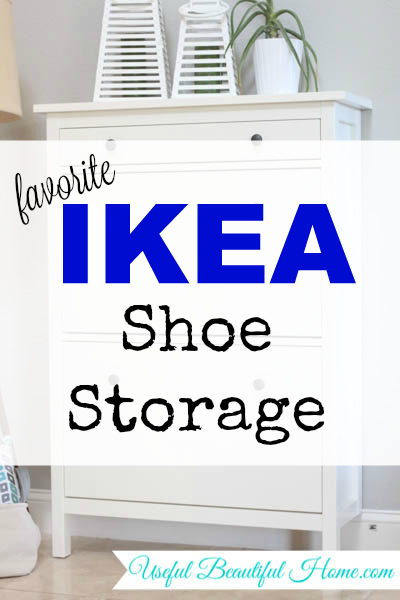 My favorite ikea shoe storage to control the clutter - Shoe organizers for small spaces design ...