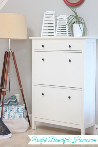 Ikea Hemnes storage shoe cabinet