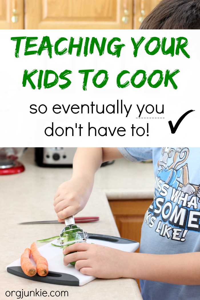 Teaching Your Kids to Cook so eventually you don't have to!