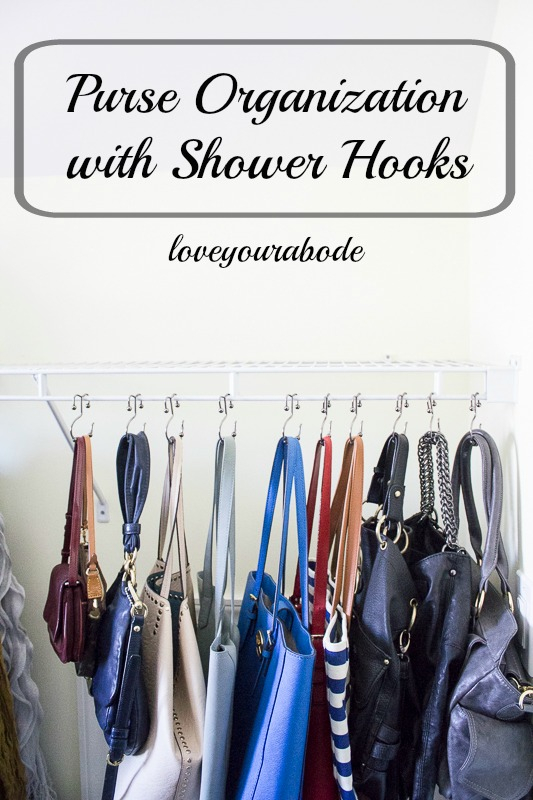 An Easy Inexpensive Way To Organize All Your Purses In