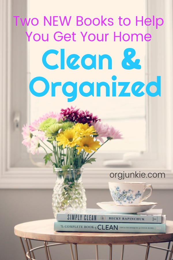 two new books to help you keep a clean organized home. Black Bedroom Furniture Sets. Home Design Ideas