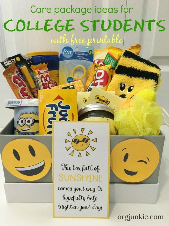 Care Package Ideas for Your College Kids - 3 Essential ...