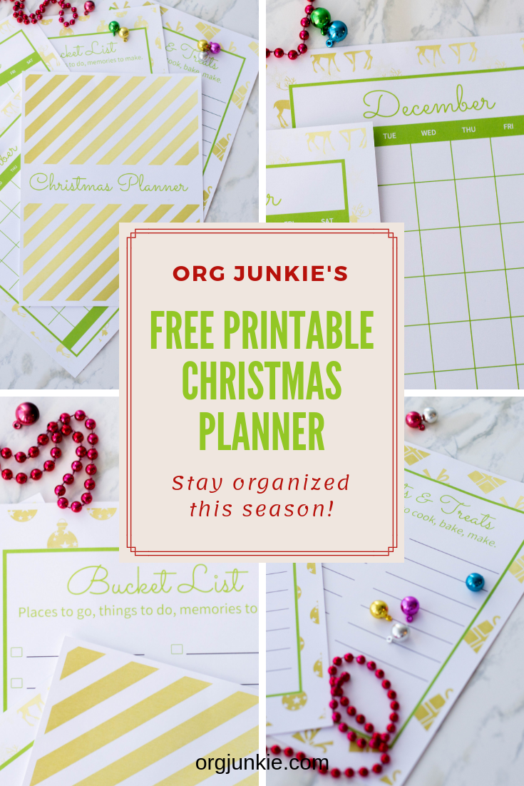 image about Free Christmas Planner Printables referred to as 2018 Totally free Printable Xmas Planner - Keep on being Prepared this