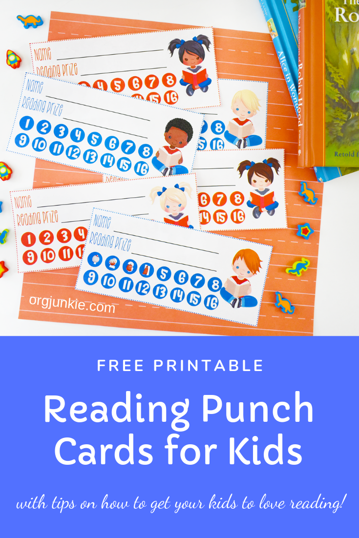 photograph relating to Free Printable Punch Cards named How towards Obtain Your Children towards Get pleasure from Studying + Cost-free Looking through Punch Playing cards